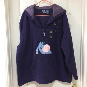 Disney Eeyore Fleece Pullover Hoodie